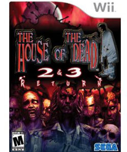 Nintendo Wii House of the Dead 2 & 3