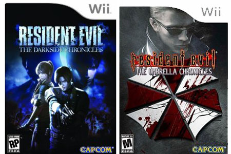 Nintendo Wii Resident Evil The Umbrella & Darkside Chronicles