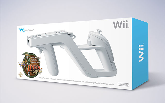 Wii Zapper Gun