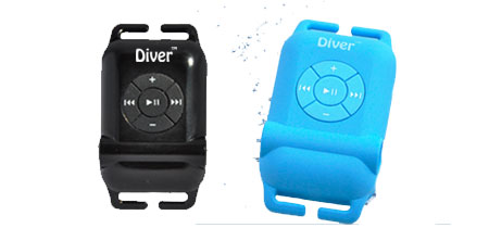 Diver Waterproof MP3 Player