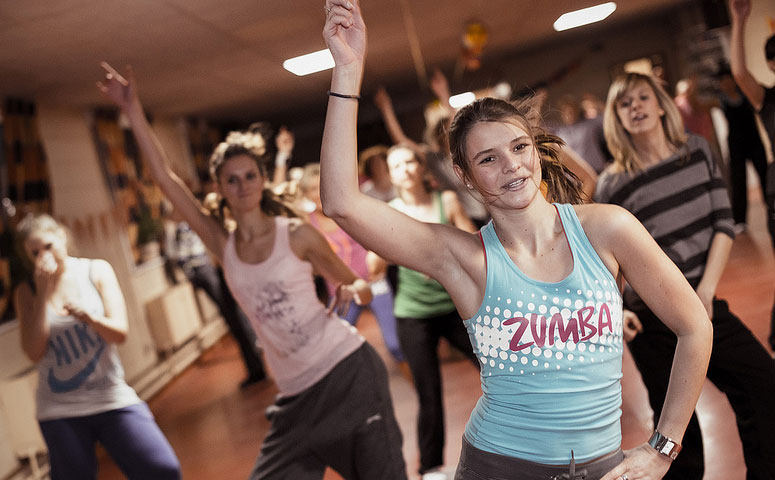 Zumba Dance Aerobics