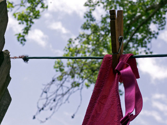 Hang Bras Out to Dry
