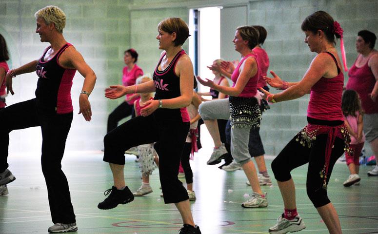 Women Doing Jazzercise