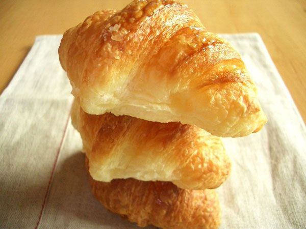 Croissants Stacked on top of Each Other
