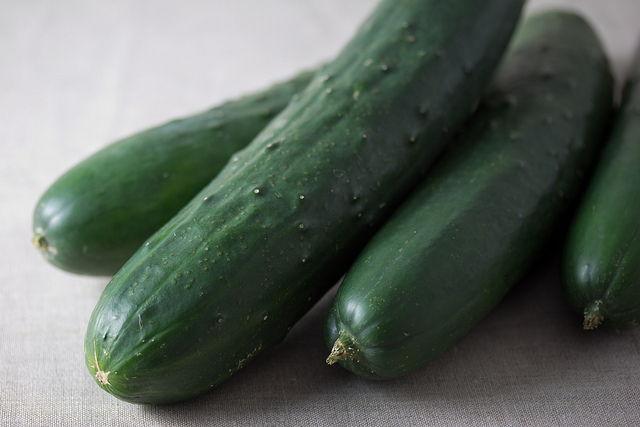 Pile of Cucumbers