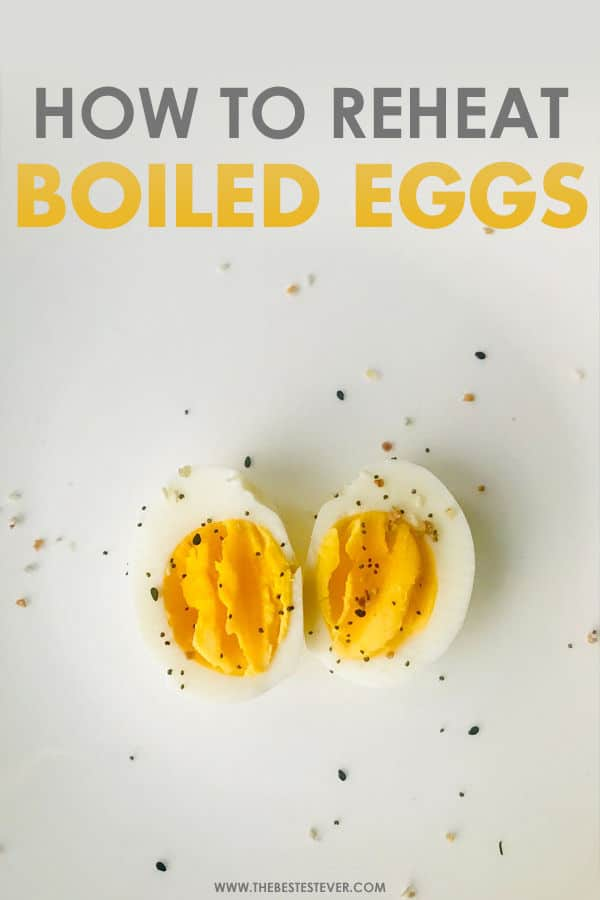 How to Reheat Boiled Eggs: A Step-by-Step Guide