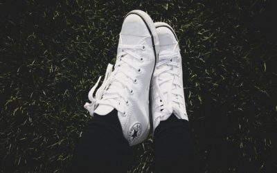 How to Clean White Converse Shoes