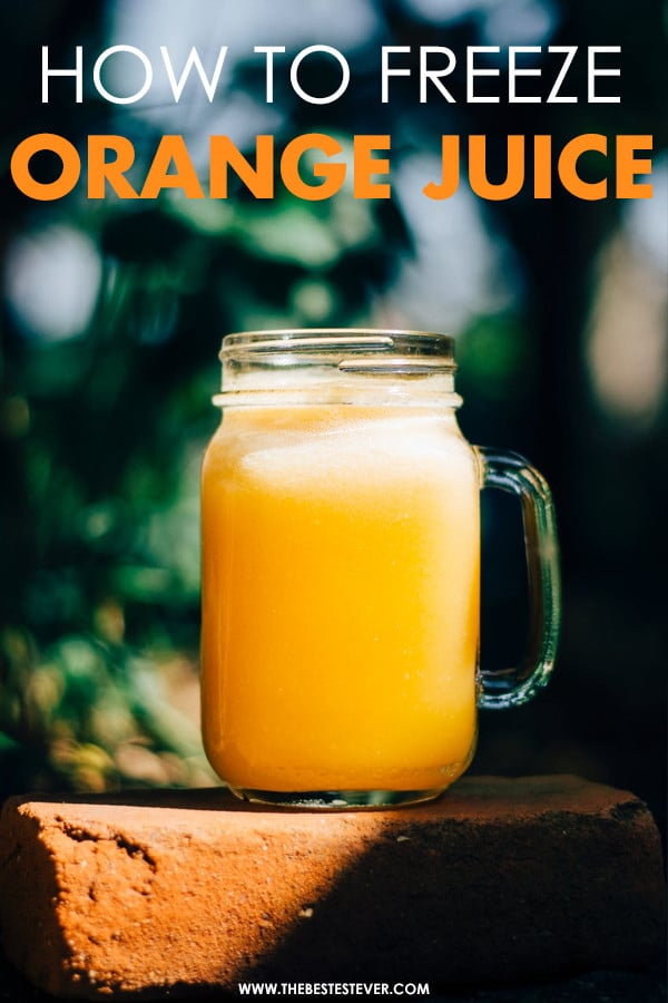 Can You Freeze Orange Juice Check Out