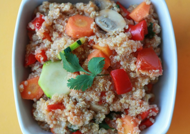 Reheat Quinoa