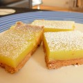 Freezing lemon bars