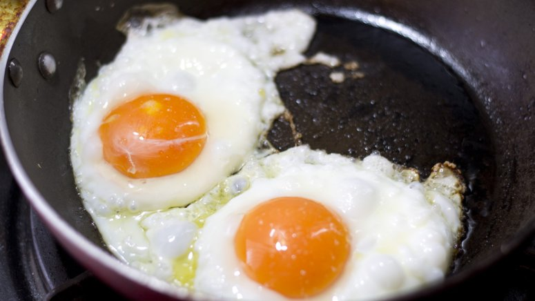 Freezing Fried Eggs