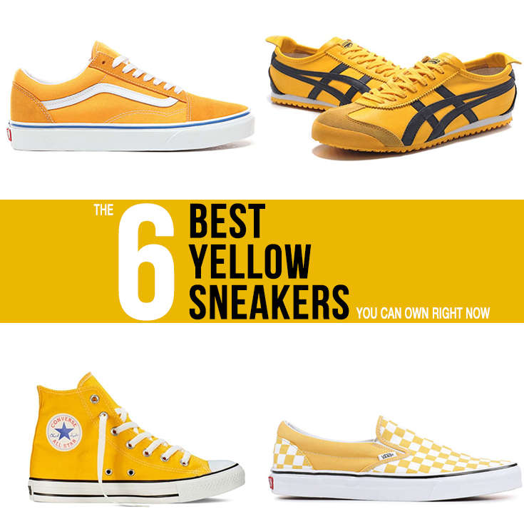 An image Showing 6 of the Best Yellow Sneakers