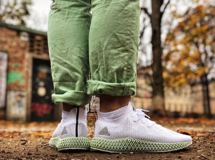Adidas Alpahaedge 4D Shoes With Green Pants