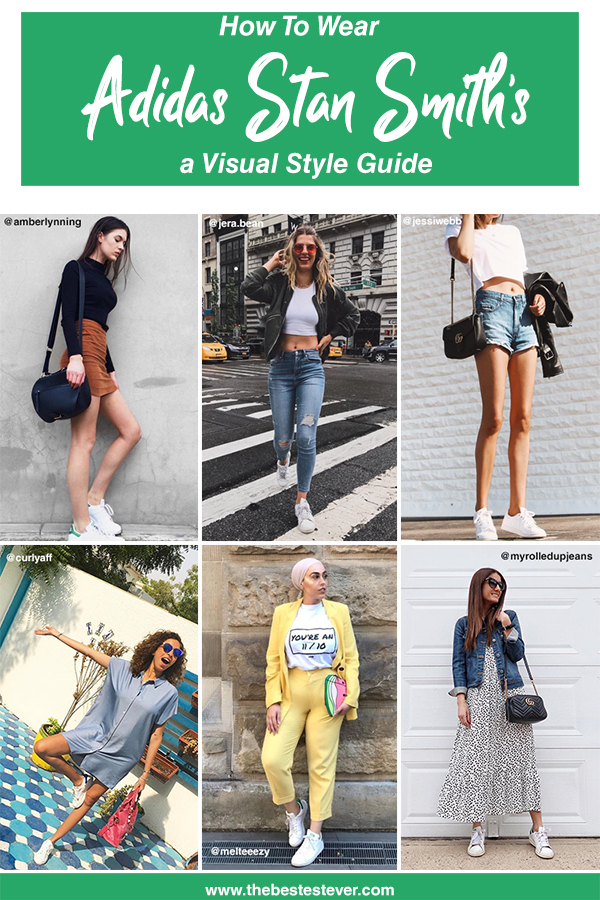 new arrival a7526 043a5 How to Wear Adidas Stan Smith's: The Visual Guide To Casual Cool