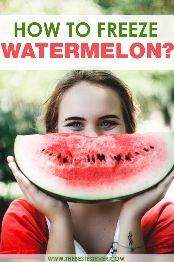 Can You Freeze Watermelons
