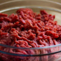 Ground Beef Sitting in a Bowl