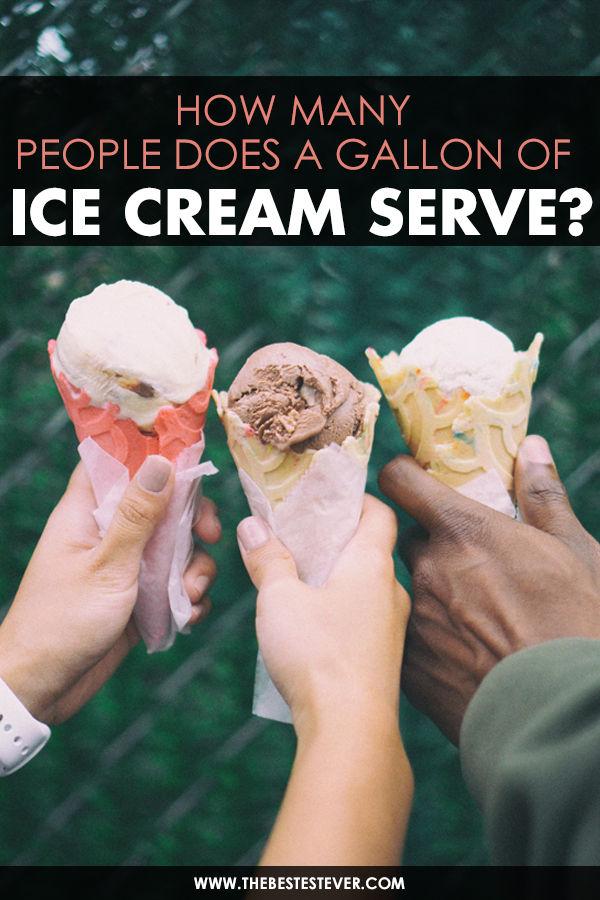 People Holding Up Ice Cream Cones