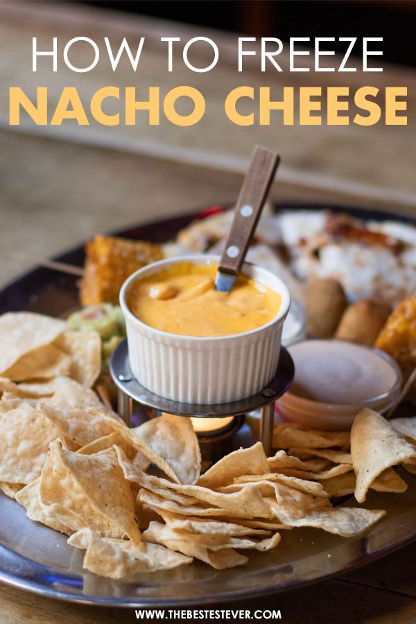 Nacho Cheese Surrounded by Nachos