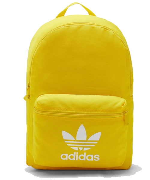 YELLOW ADICOLOR CLASSIC BACKPACK