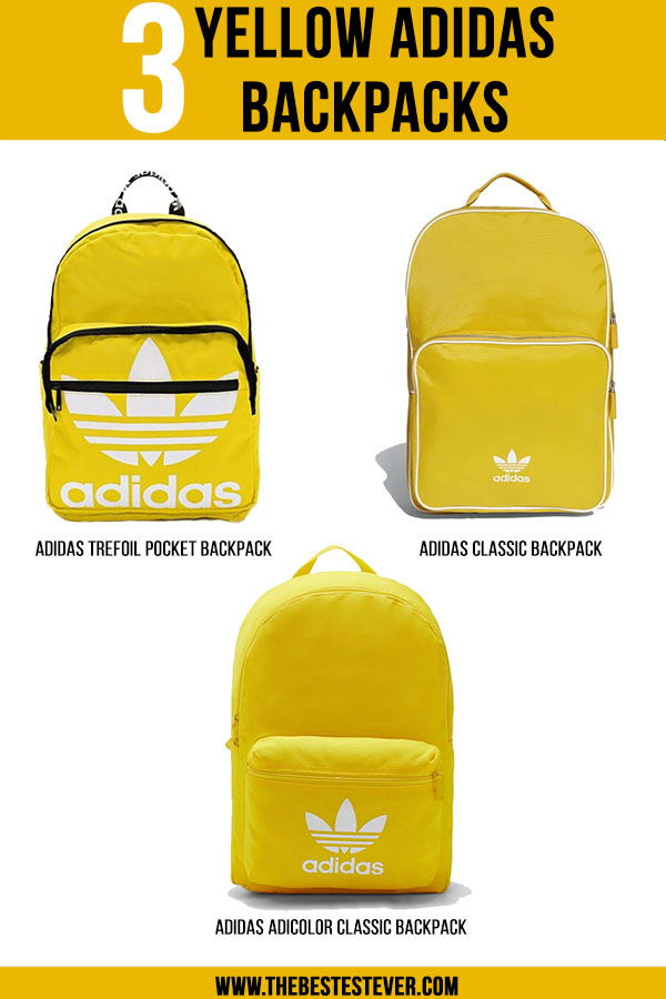 Best Yellow Adidas Backpacks