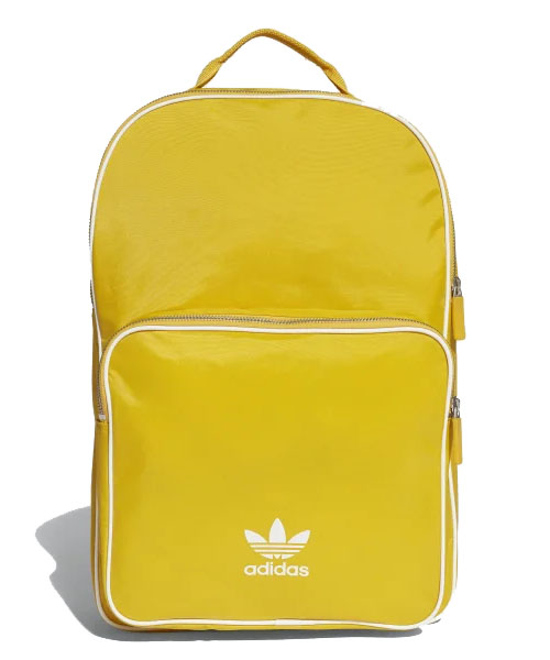 Yellow Adidas Classic Backpack