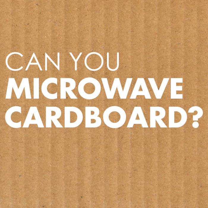Can You Microwave Cardboard?
