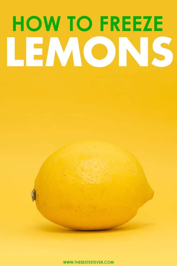 How to Freeze Lemons: A Step-by-Step Guide