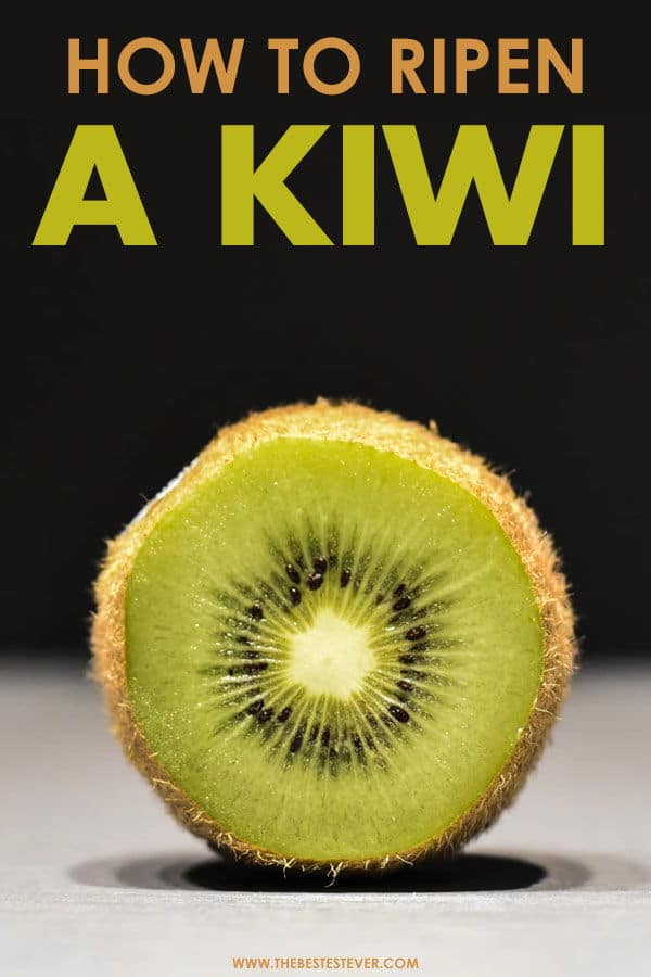 Guide to Ripening a Kiwi Quickly
