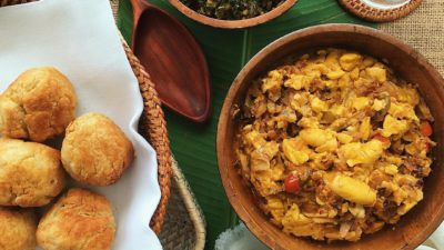 How to Reheat Ackee & Saltfish