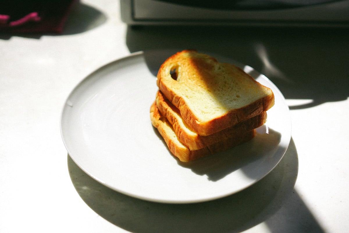 Reheating Toast