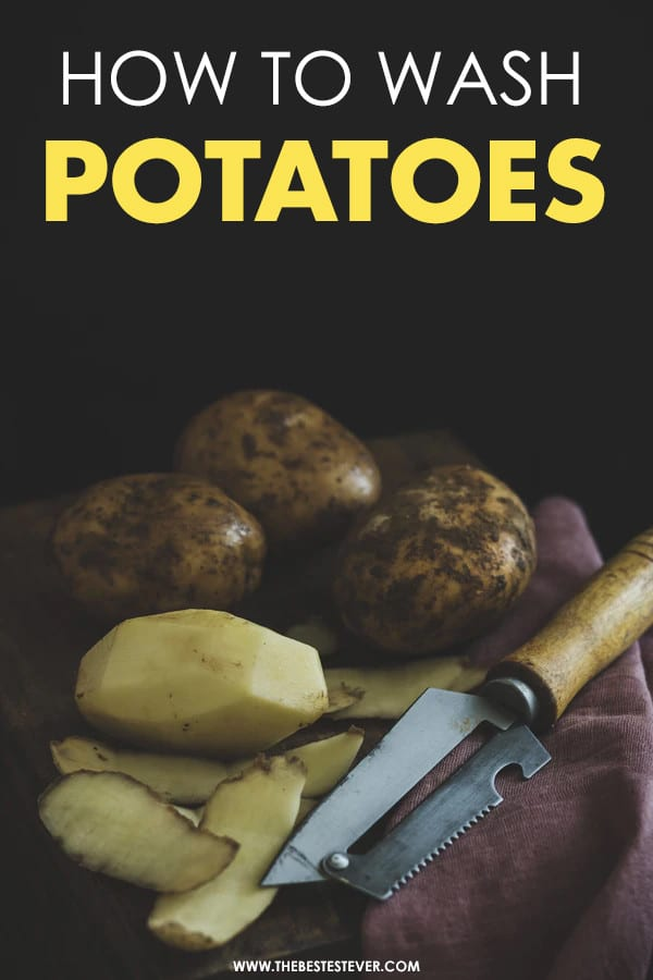 How to Wash Potatoes: A Quick Step Guide