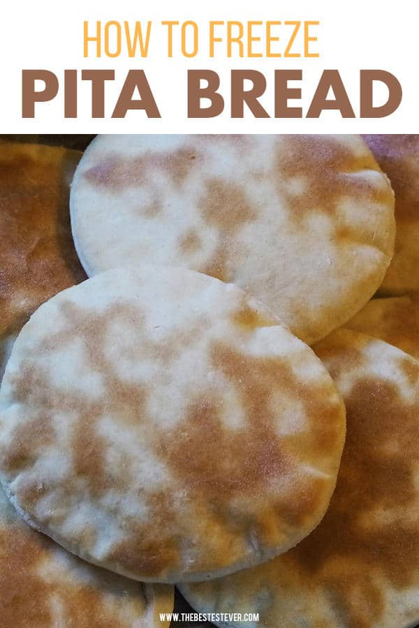 How to Freeze Pita Bread