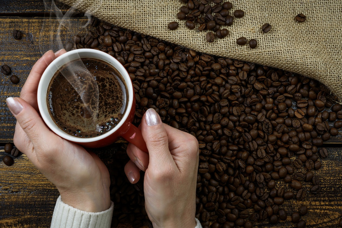 Woman Holding a Cup of Coffee: (The Ultimate Guide to Warming up Coffee)
