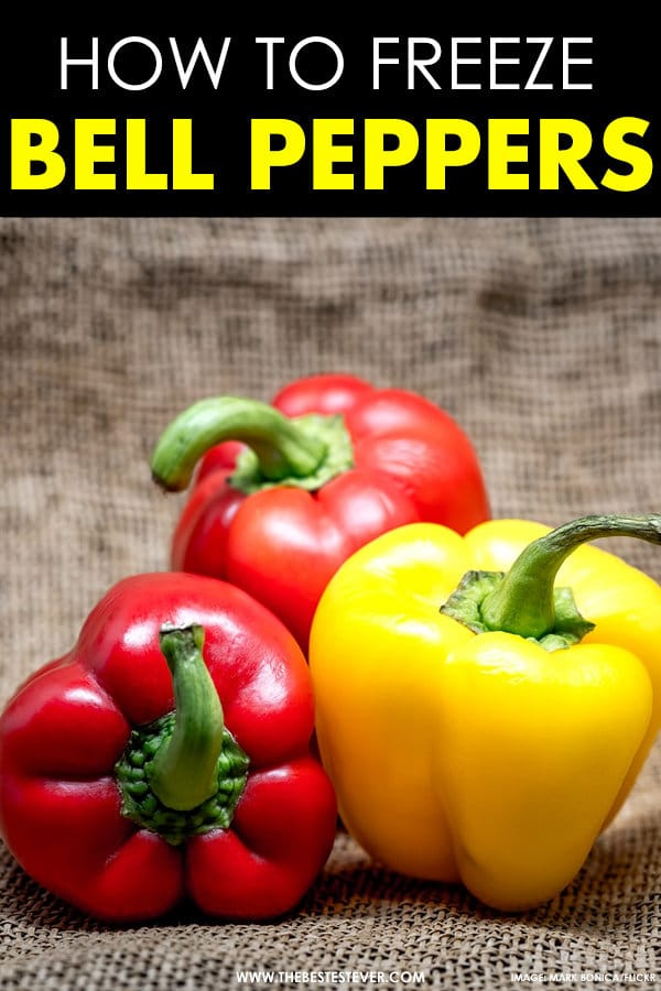 How to Freeze Bell Peppers: A Quick Step Guide