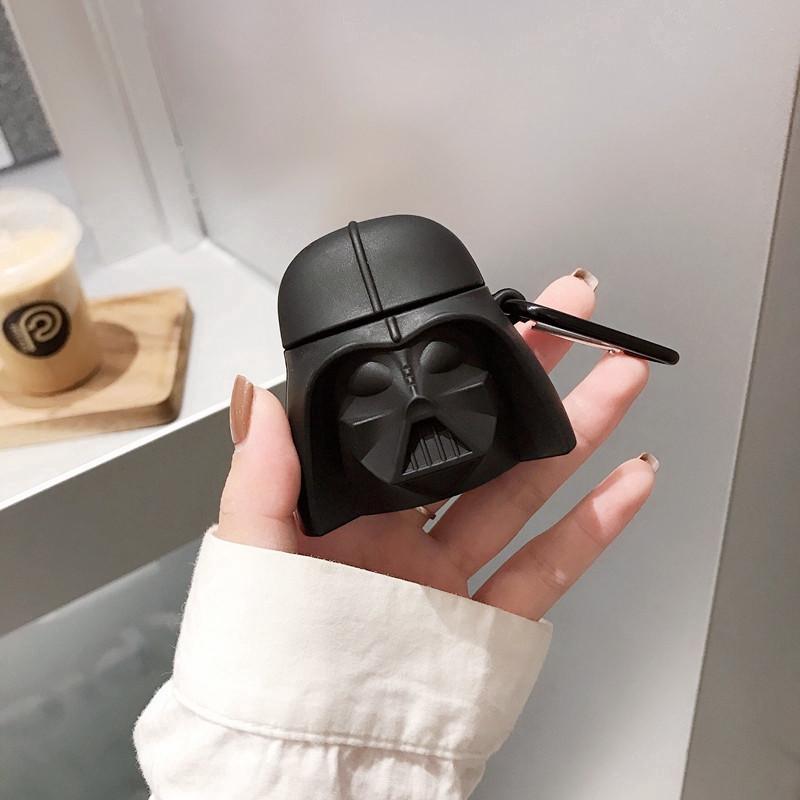 Black Darth Vader Airpods Case