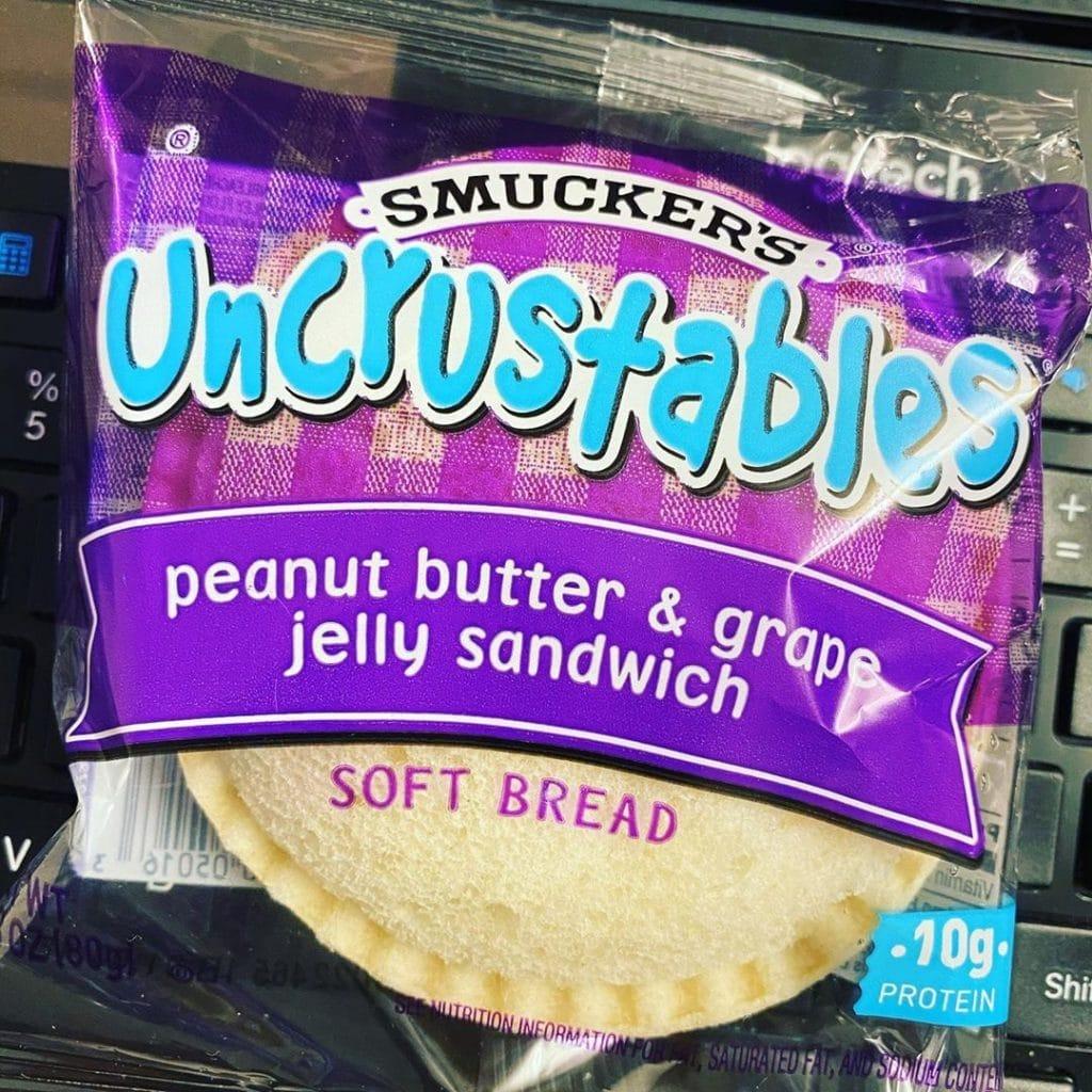 Smucker's Uncrustables: Peanut Butter & Jelly Sandwich