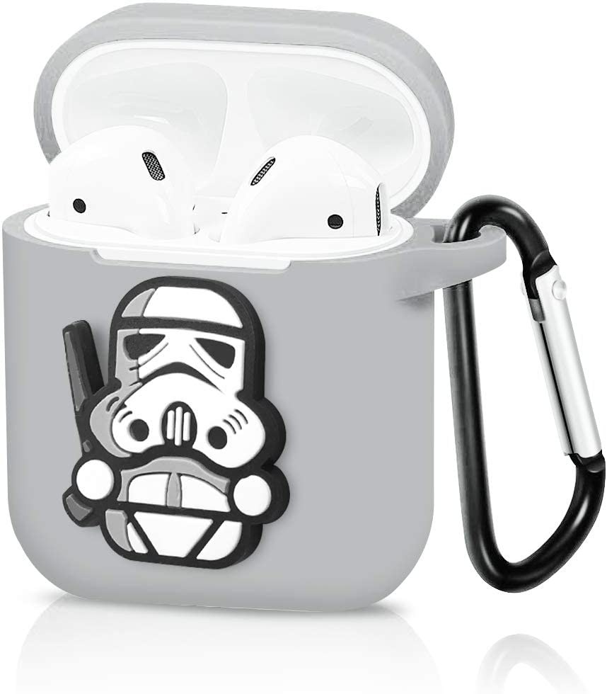 Grey Storm Trooper Airpod Case