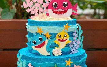 15 Adorable Baby Shark Cakes