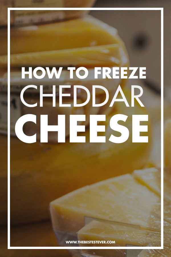 How to Freeze Cheddar Cheese (Quick Step Guide)