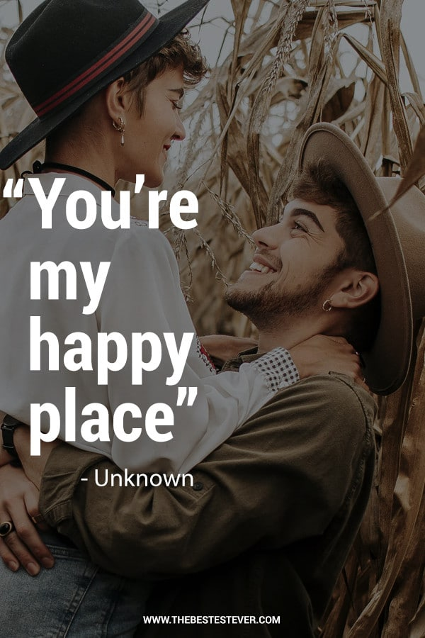 You're My Happy Place Quote