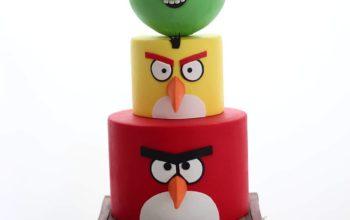 Angry Birds Birthday Cake Ideas