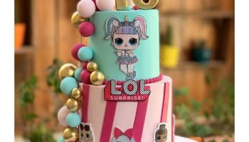 13 LOL Dolls Birthday Cake Ideas