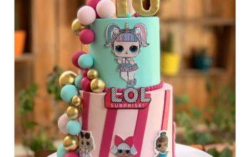 13 LOL Dolls Birthday Cake Ideas