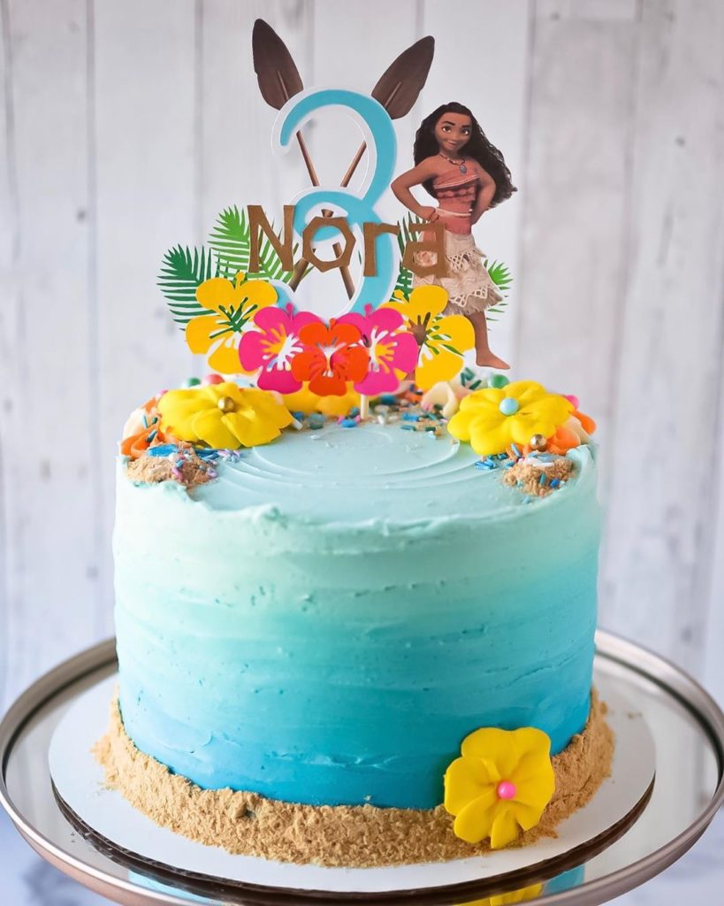 15 Beautiful Moana Birthday Cake Ideas This Is A Must For The Party