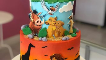 15 Lion King Cake Ideas