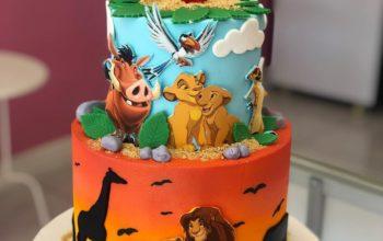 15 Lion King Cake Ideas