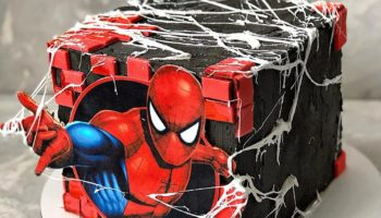 15 Spiderman Cake Ideas & Designs That Are Spectacular