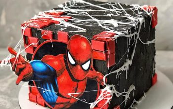 15 Spiderman Cake Ideas