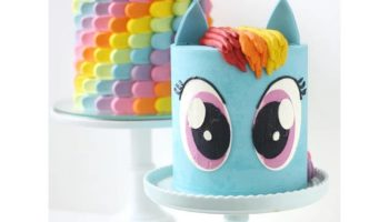 Rainbow Dash Cake Ideas