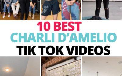 10 Most Popular Charli D'Amelio's TikTok Dance Videos